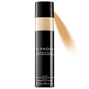 Sephora Collection Perfection Mist Airbrush Foundation provides a natural look and long-lasting results.