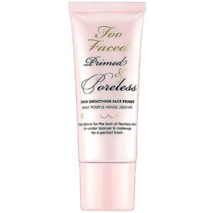 Although Too Faced Cosmetics Primed and Poreless is not specifically made for airbrush makeup it still provides it with an amazing start.