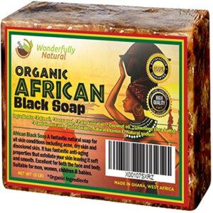Wonderfully Natural Organic African Black Soap