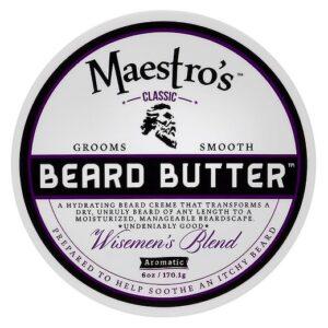 Maestro's beard butter