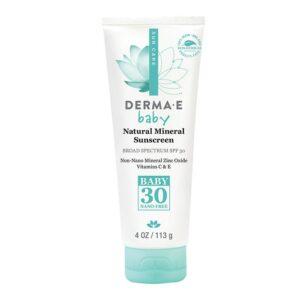 Derma E SPF 30 Baby Natural Mineral Sunscreen