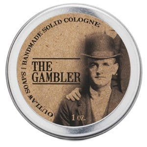 Outlaw Soaps The Gambler Solid Cologne:
