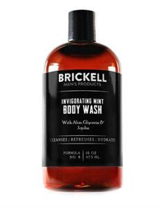 brickell men's invigorating mint body wash