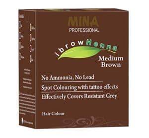 MIna ibrow henna kit
