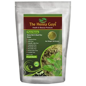 The Henna Guys Pure Henna Powder