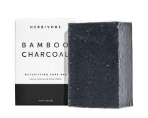 herbivore bamboo charcoal soap bar