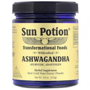 sun potion ashwaghanda powder
