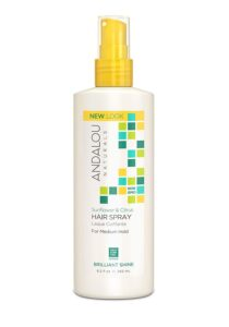 Andalou Naturals Brilliant Shine Hair Spray Sunflower & Citrus